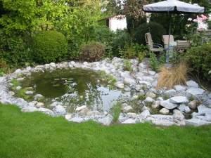 Wasseranlagen, Teichanlagen und Teich