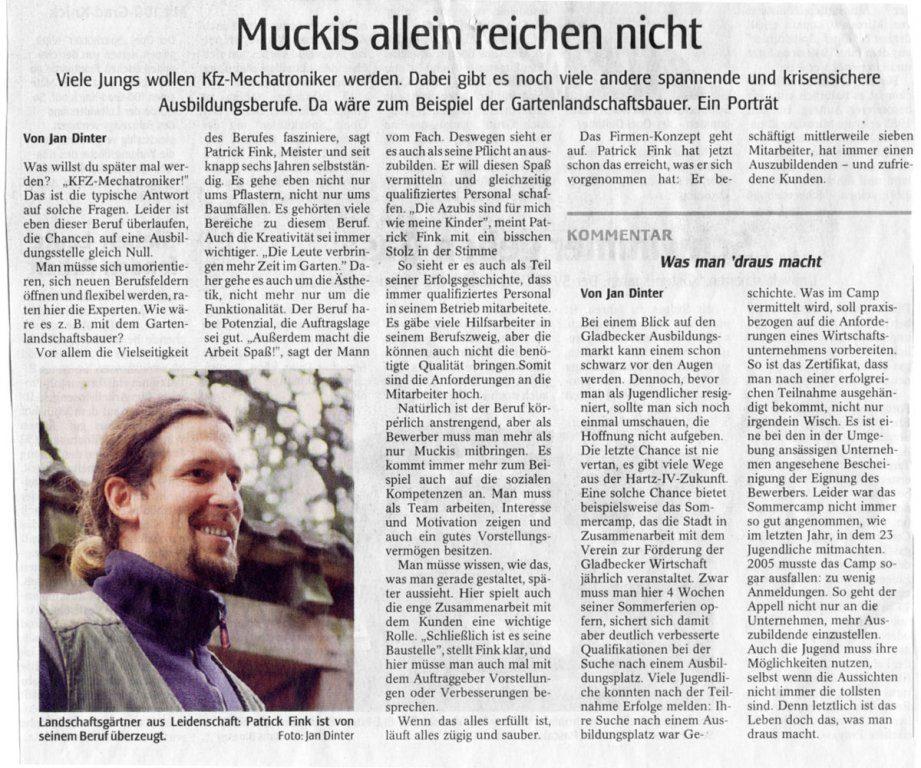 sonstiges_004 | Garten- und Landschaftsbau Patrick Fink - Meisterbetrieb, Gladbeck