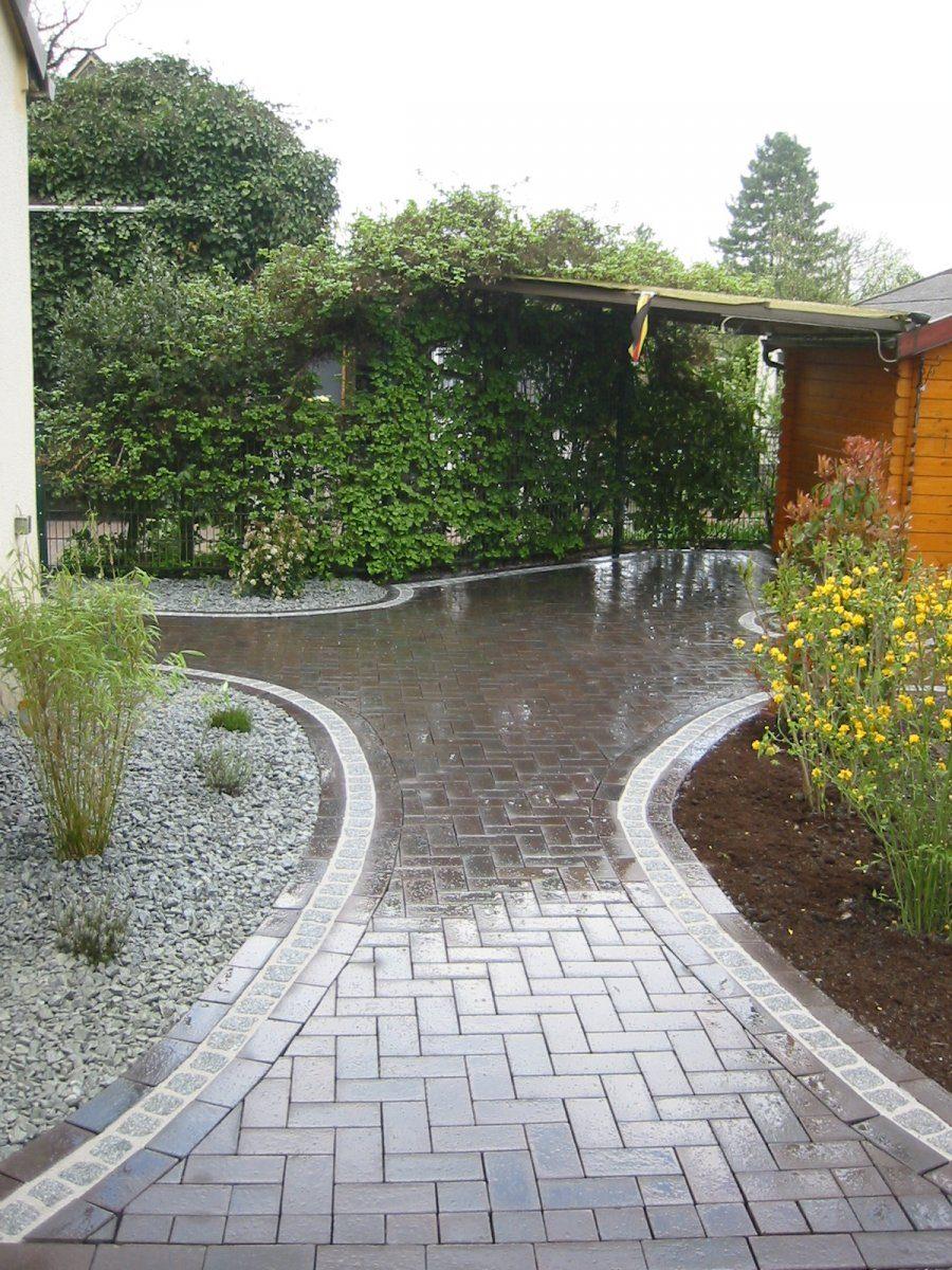 pflasterklinker dresden mit granitenfassung garten und landschaftsbau patrick fink. Black Bedroom Furniture Sets. Home Design Ideas